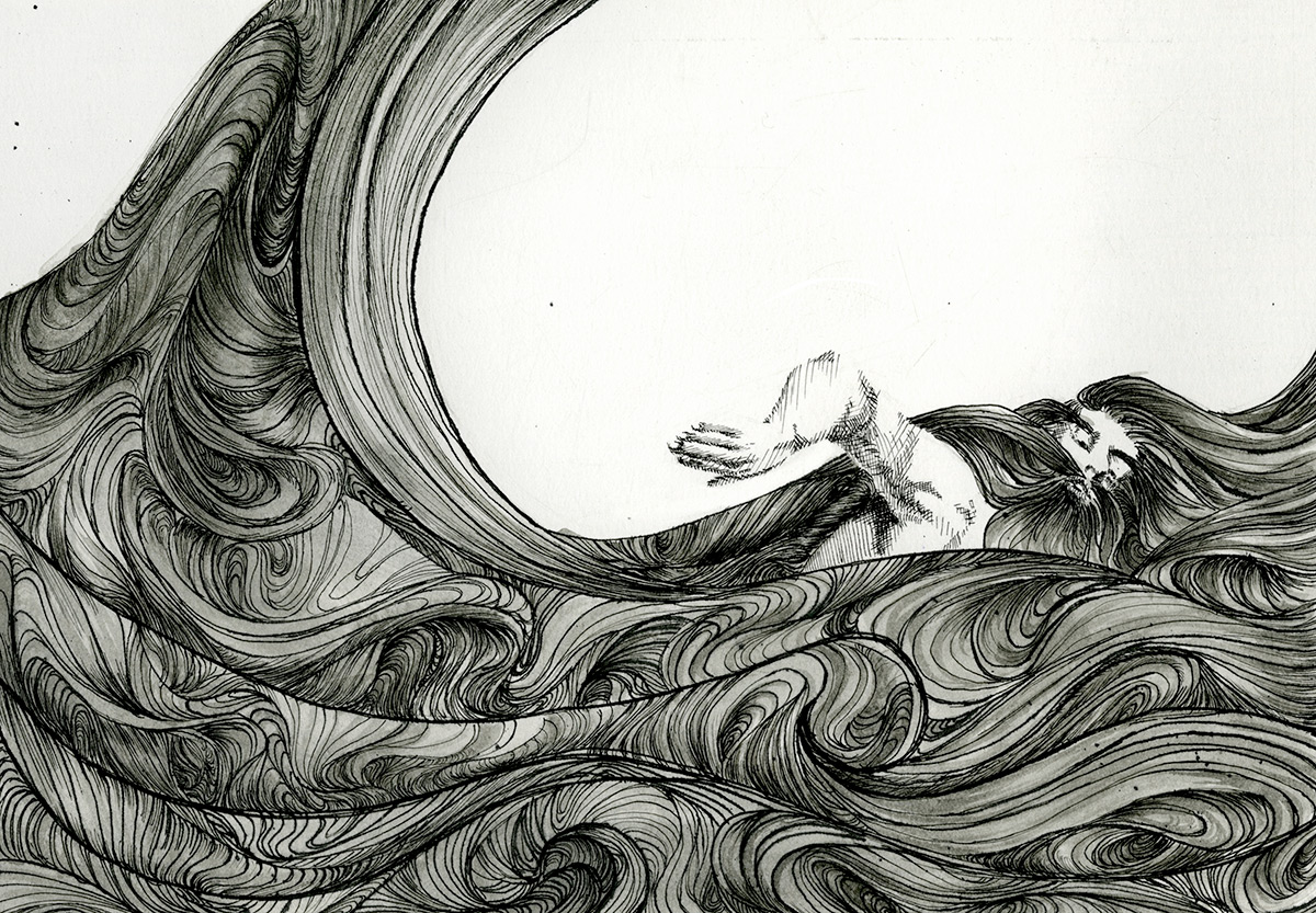 Pen And Ink Illustrations : Faith zeng